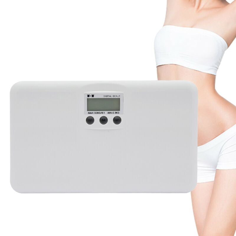 """10.43*6.18*10.63""""Digital Bathroom Body Weight Scale Fitness For Adults/Children"""