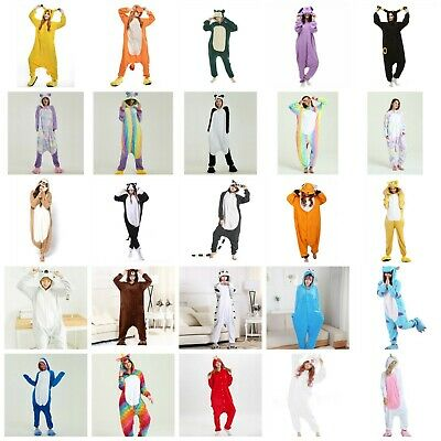 Cartoon Animal Pokemon Unicorn Sloth Cat Adult Onesie0 Kigurumi Pajamas Costume - Adult Cartoon Cat