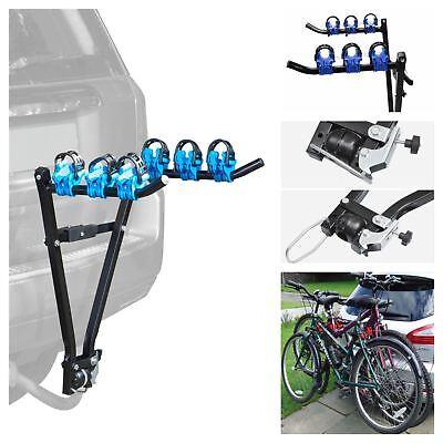 3 Bike Tow Bar Towbar Towball Mount Cycle Bicycle Carrier Car Van...