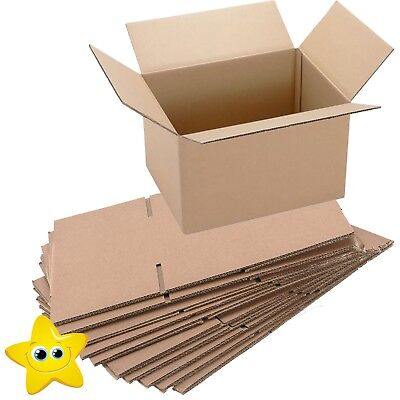 50 x SMALL MAILING PACKING CARDBOARD BOXES 4x4x4