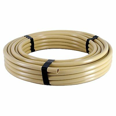 Holman POLY IRRIGATION TUBE 13mmx25m For Garden Watering BEIGE *Aust Brand