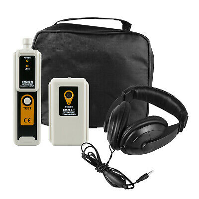 Ultrasonic Leak Detector Transmitter Air Water Dust Pressure Vacuum 40khz -2kh