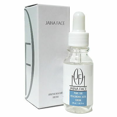 Pure 100  Hyaluronic Acid Serum Ha Collagen Anti Aging Wrinkle Cream Hydration