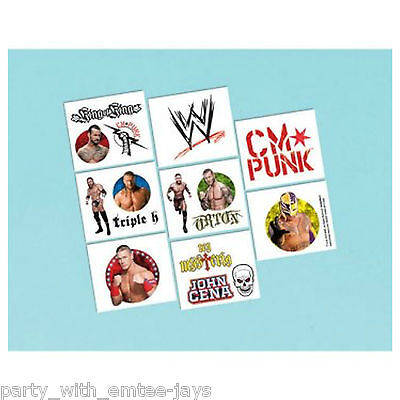 WWE Tattoos - WWE Birthday Party Favours and Loot Ideas - Tattoos Boys Fun](Boy Birthday Party Ideas)
