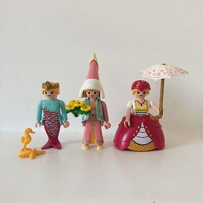 Playmobil Princess Figures Bundle Flower Maiden Mermaid Victorian Princess