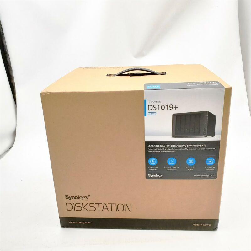 -NEW- Synology 5 Bay NAS DiskStation DS1019+ (Diskless)