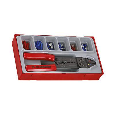 Teng Tools 121 Piece Crimping Tool Terminal Set
