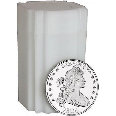SilverTowne 1804 $1 Struck in 1oz .999 Fine Silver Medallion LOT OF 20