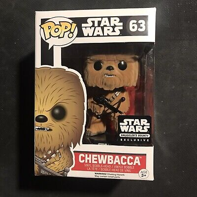 Funko POP Star Wars - Smuggler's Bounty Exclusive - FLOCKED CHEWBACCA 63