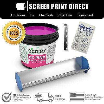 Ecotex Dc Emulsion Starter Kit - Scoop Coater Emulsion Exposure Calculator