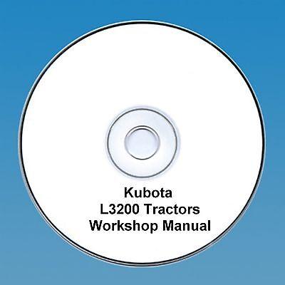 Kubota L3200 Tractor Workshop Manual