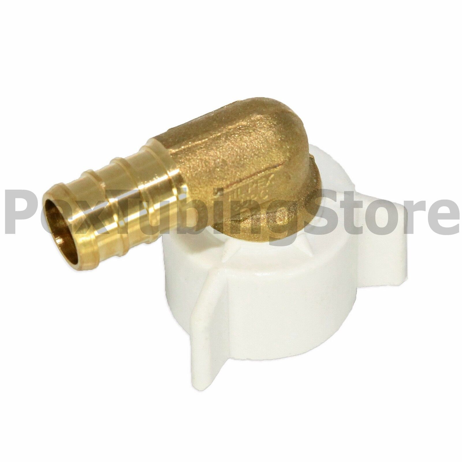 NSF PEX Fittings All Sizes ASTM Brass Crimp Elbows Tees Couplings Adapters