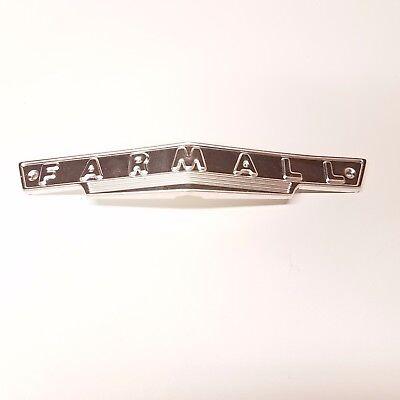 Farmall A B Bn Av Front Grill Emblem