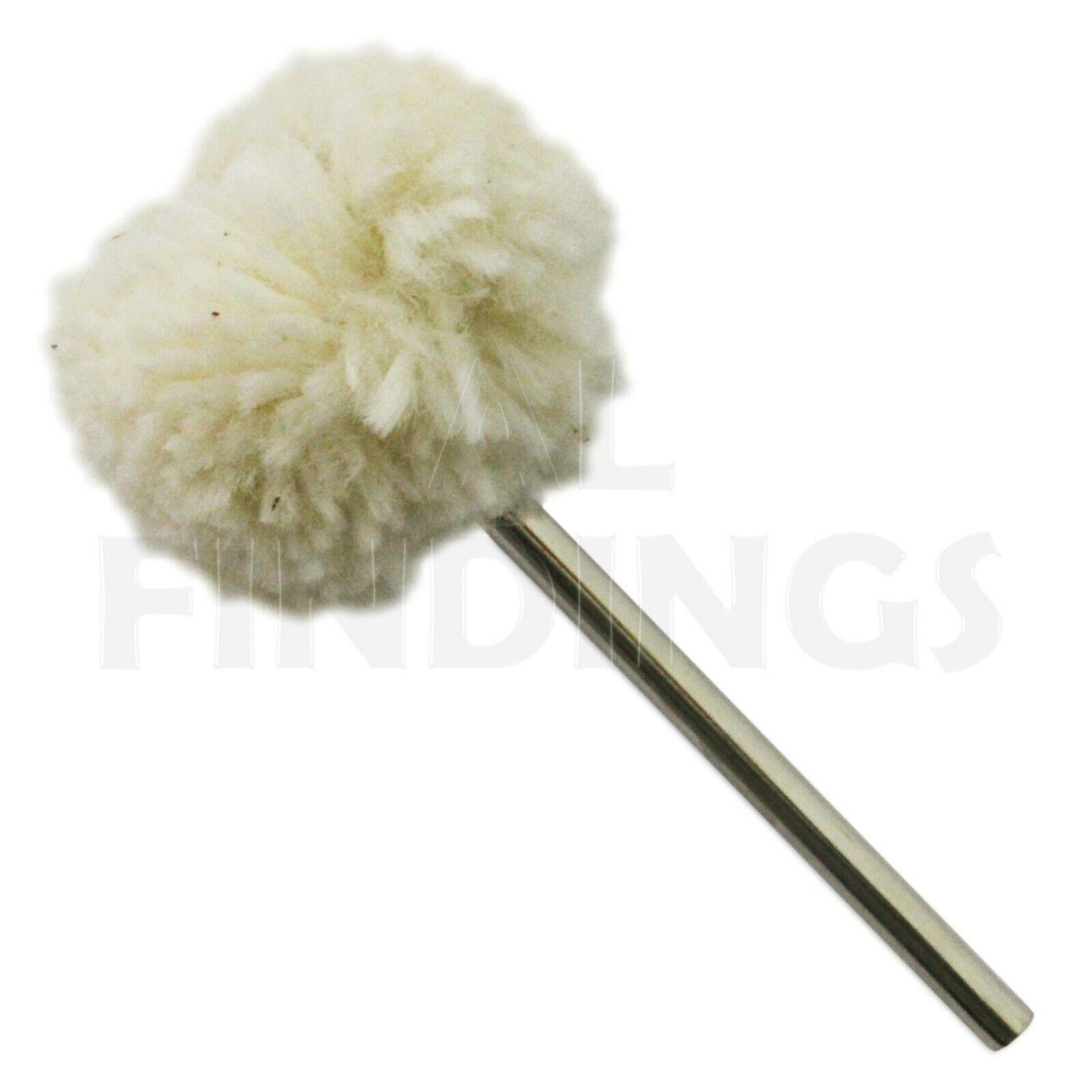 "Mop Polish Jewellery 4/"" Calico Buff Combed Fine Soft"