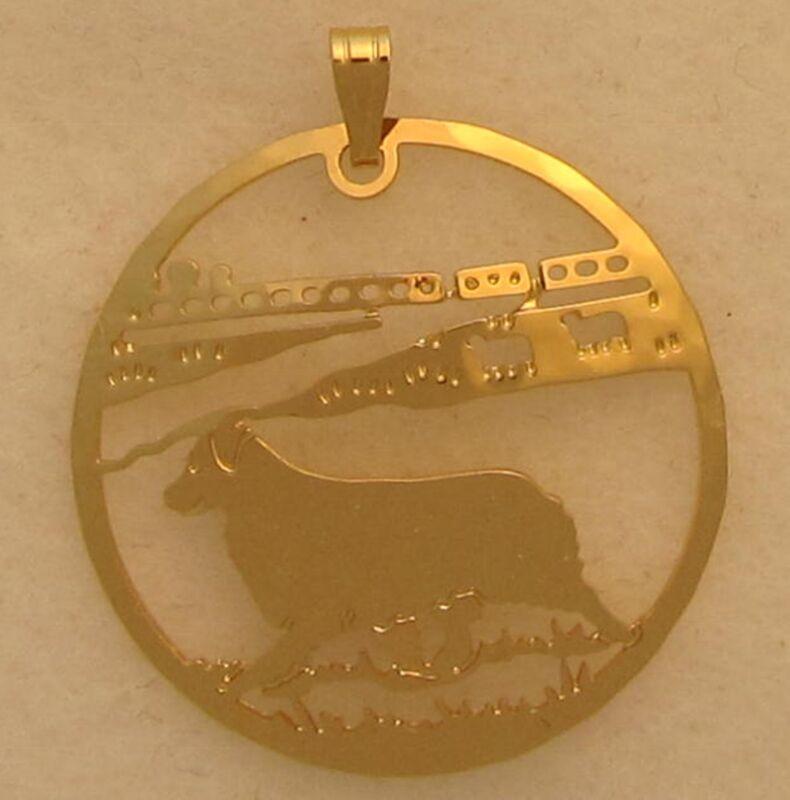 Australian Shepherd Jewelry Pendant