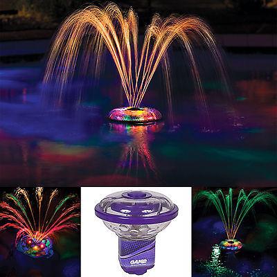 Swimming Pool Lights Underwater Floating Genesis Show Waterfall LED Multi Color
