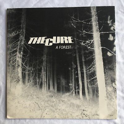 "THE CURE - A Forest -Rare Original UK 7"" +Pic Sleeve /Metallic label (Vinyl)"