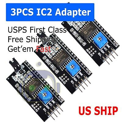 Serial Iici2ctwi Adapter For 1602 2004 Character Lcd Module Display Arduino