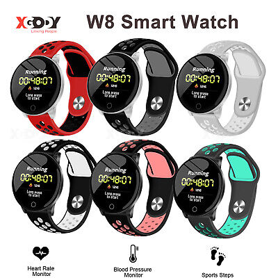 XGODY Smart Watch Heart Rate Oxygen Blood Pressure Sport Fit