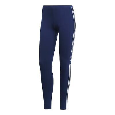 Adidas Originals Womens Leggings Casual 3 Stripe Tight Navy DV2634
