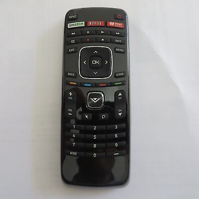New Vizio Xrt112 Led Smart Internet Apps Tv Remote Control