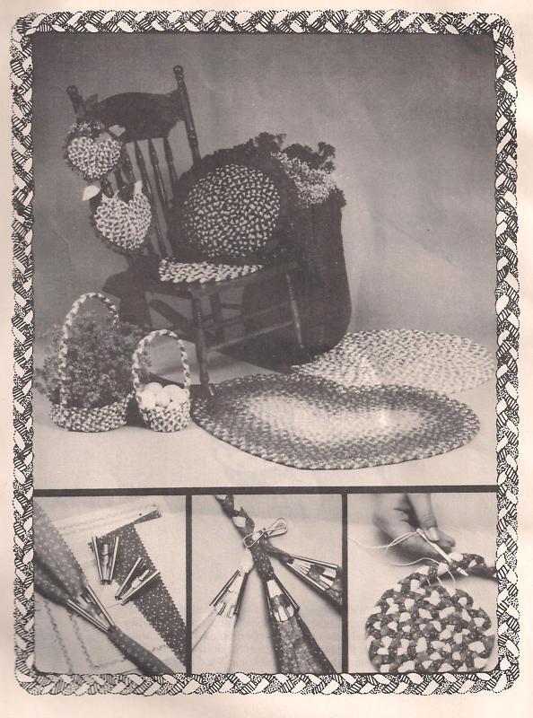 Braidcraft original braided rug braiding instructions