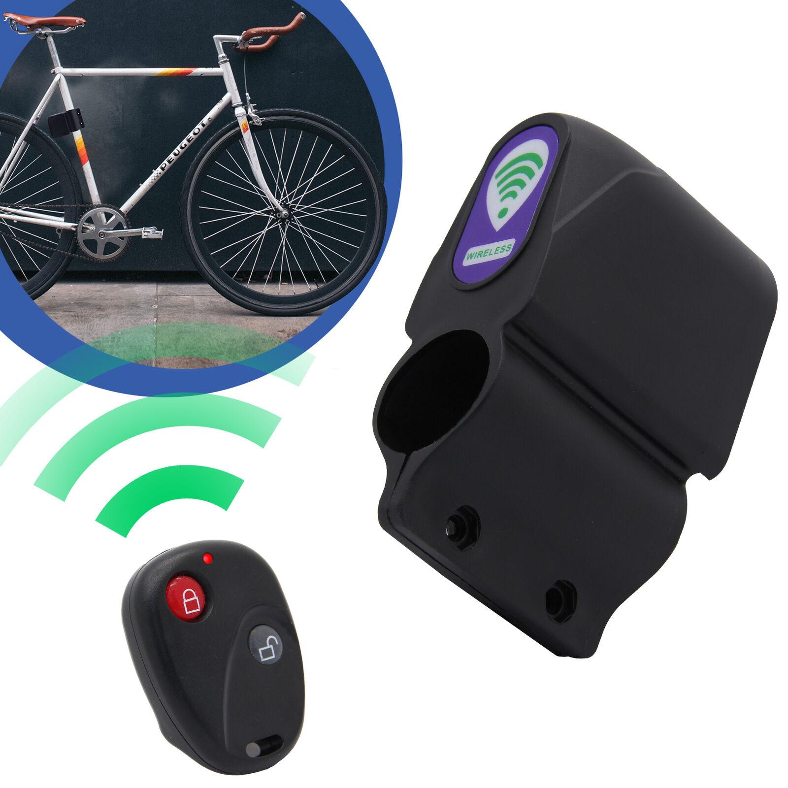 Alarmanlage Vibration Alarm Sirene mit Fernbedienung für Fahrrad Bike Roller Rad