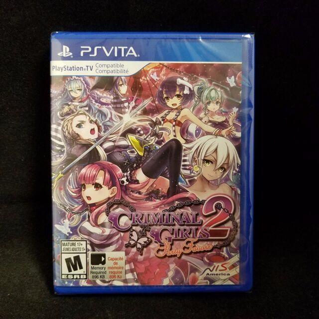 Criminal Girls 2: Party Favors (PS Vita) BRAND NEW / Region Free