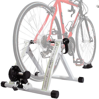 NEW Portable Indoor Exercise Magnetic Resistance Bicycle Trainer Stand Bike 5