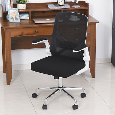 Vinsetto High Back Executive Mesh Office Chair With Folding Backrest Black