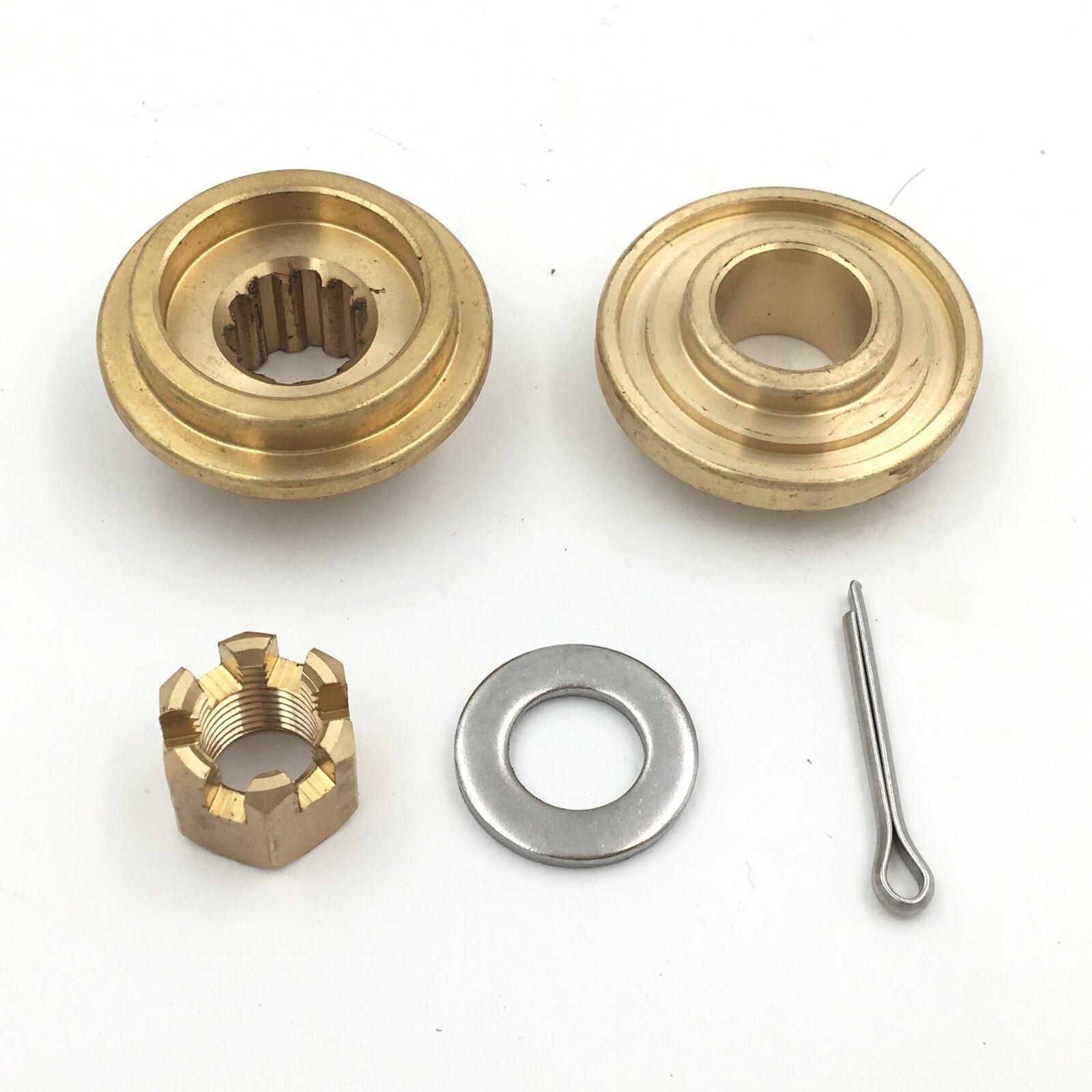 Propeller Hardware Kits Thrust Washer/Spacer/Nut for SUZUKI 9.9-15HP