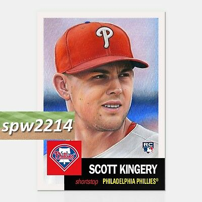 Topps Living Set Scott Kingery  40
