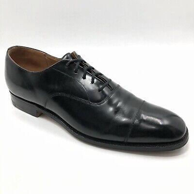 ✅❤️✅@ Church's Custom Grade Black Captoe Oxford Shoe UK 8.5 A US 9.5 A