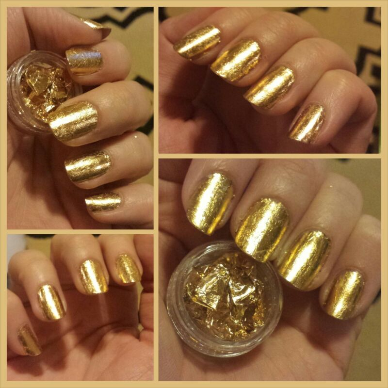 Gold nails - deals on 1001 Blocks