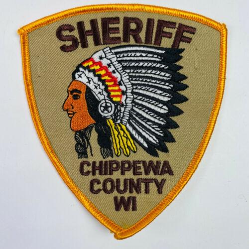 Chippewa County Sheriff Wisconsin WI Patch