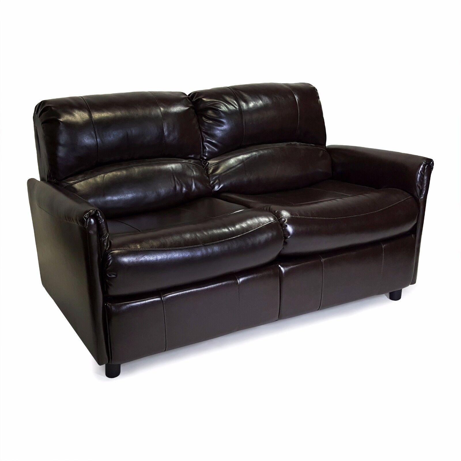 "RecPro Charles 60"" RV Sofa Sleeper w/Hide A Bed Loveseat Esp"
