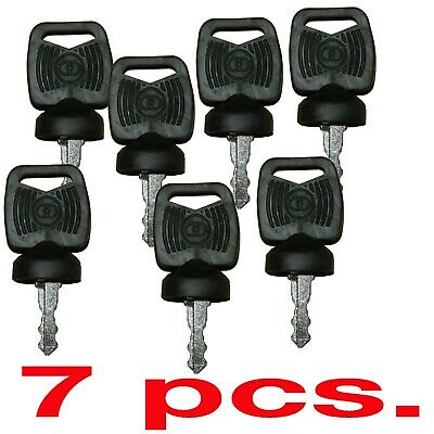 7 Pcs. Bobcat 422455 Ignition Key Apk75 5119s