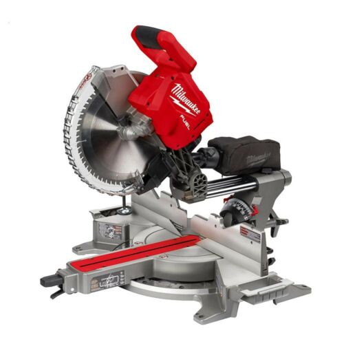 Milwaukee M18 FUEL Compound Miter Saw Duel Bevel Sliding 12in ONE-KEY 2739-20
