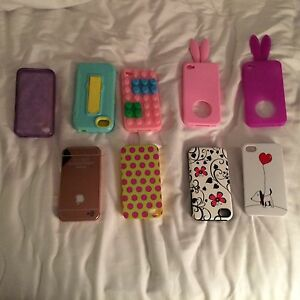 9 used iPhone cases for iPhone 4