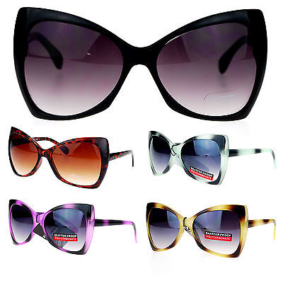 Womens Designer Fashion Oversized Butterfly Cat Eye Gradient Lens (Butterfly Gradient)
