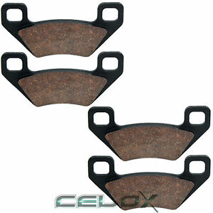 Front-Rear-Brake-Pads-For-Arctic-Cat-Wildcat-1000i-HO-2012-2013-2014