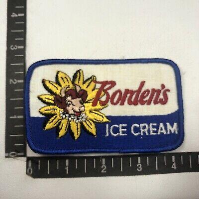 Vtg ELSIE THE COW MASCOT BORDEN'S DAIRY ICE CREAM Advertising Patch 99H