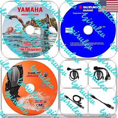 USA Seller Suzuki Yamaha Evinrude Outboard Diagnostic KIT / WaveRunner /Jet Boat