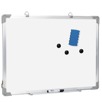 Dry Erase White Board Wall Hanging Board Magnetic Whiteboard 18 X 24 Inch