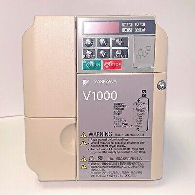 Yaskawa V1000 General Purpose Inverter Drive Cimr-va2a0010baa