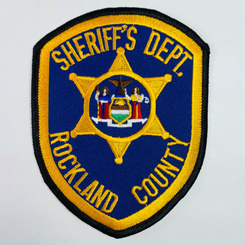 Rockland County Sheriff New York NY Patch (A4)
