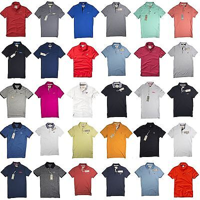 Nwt Hollister By Abercrombie Mens Polo Shirt T Shirt
