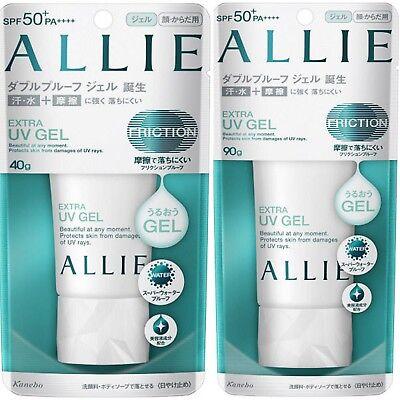 Kanebo Allie Extra Uv Gel Sunscreen 40G 90G Spf50  Pa     Japan