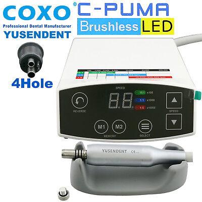 Coxo Dental Brushless Led Electric Mini Micro Motor C Puma 4 Hole Handpiece Nsk