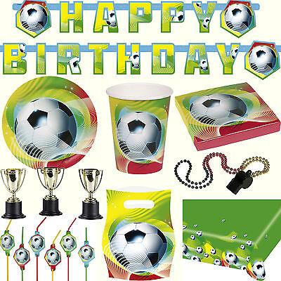 & Deko zur Fussballparty / Kindergeburtstag / Mottoparty 3 (Kinder Party Geschirr)